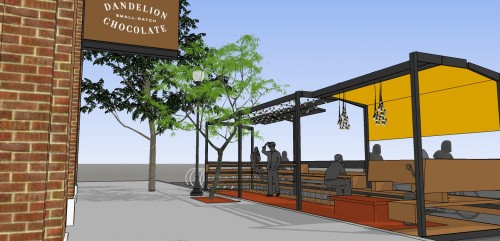 Design Projection of Upcoming Parklet