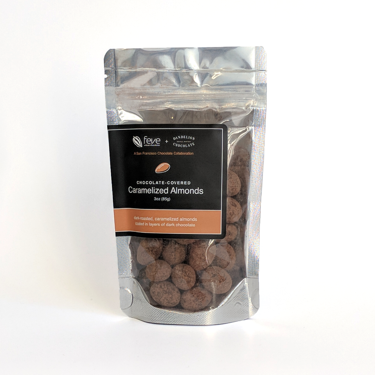 Chocolate Covered Almonds With Cocoa Powder